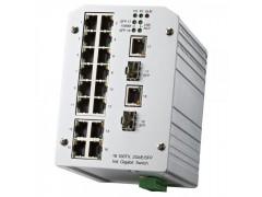JetNet 3018G 工业型 16+2G 千兆以太网交换机