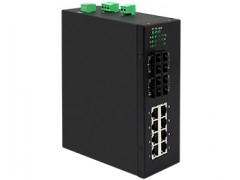宇泰UT-60408系列是非网管型工业以太网交换机