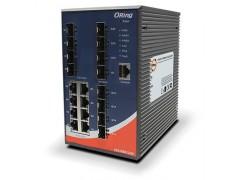 ORing IGS-R9812GP三层千兆网管型以太网交换机