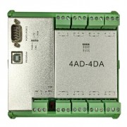 繁易 FL2N-4AD-4DA PLC模块