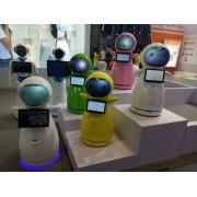 穿山甲小雪 智能商业服务机器人  高科技迎宾远程视频语音对话互动店招