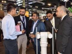 国内首个5G巡逻机器人亮相2018华为全联接大会