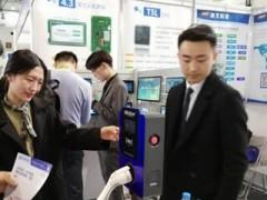 迪文科技智能屏亮相2019中国国际电动汽车充电基础设施展